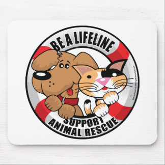 Lifeline : Support Amimal Rescue Mouse Pad
