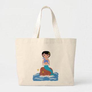Lifen el bolso de la playa de la sirena bolsa de mano