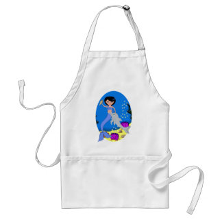 Lifen the Mermaid and Dolphin Apron