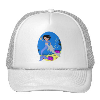 Lifen the Mermaid and Dolphin Hat