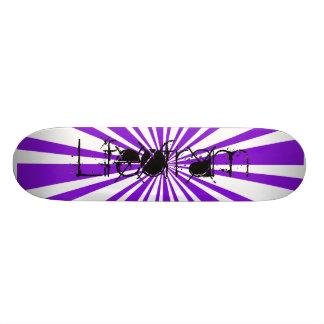 Lifeofram Complete Skateboard. Skateboard Deck