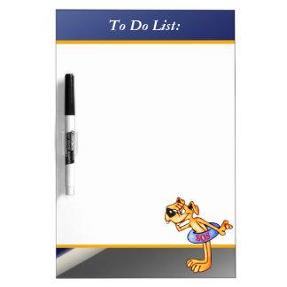 Lifequard Dog To Do List Dry Erase Board