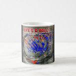 """Life&#39;s a ball magic mug<br><div class=""""desc"""">Magic mug ultrasound</div>"""