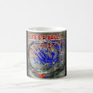 Life's a ball magic mug