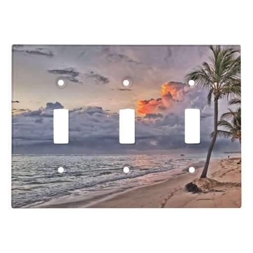 Life 39 S A Beach Light Switch Cover Zazzle
