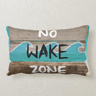 LIFE'S A BEACH: NO WAKE ZONE PILLOW
