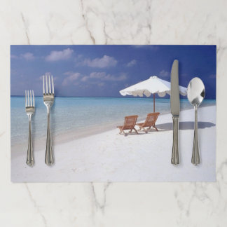Life's a Beach Paper Placemat