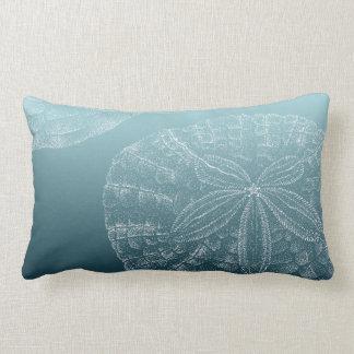 LIFE'S A BEACH: Sand Dollar Lumbar Pillow