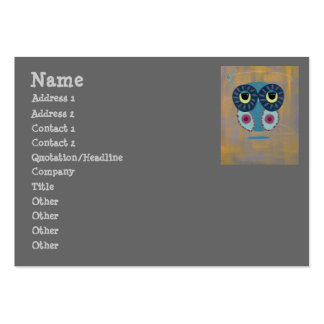 Life's A Boomerang Owl Large Business Card