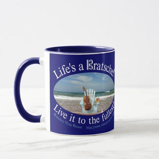Life's a Bratsche Mug