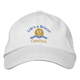Life's a Breeze_Catalina Embroidered Hat