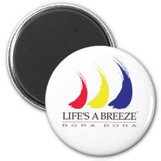 Life's a Breeze™_Paint-The-Wind_Bora Bora magnet