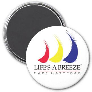 Life's a Breeze™_Paint-The-Wind_Cape Hatteras Magnet