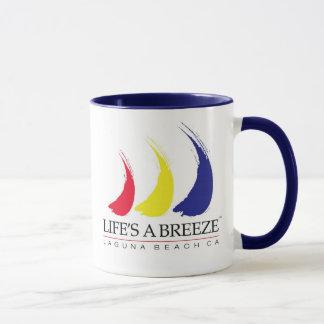 Life's a Breeze™_Paint-The-Wind_Laguna Beach mug