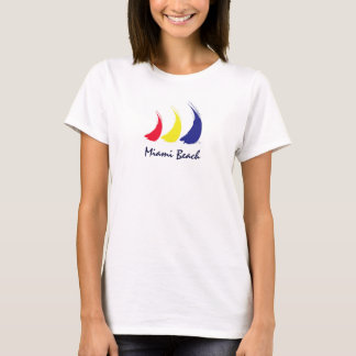 Life's a Breeze®_Paint-The-Wind_Miami Beach T-Shirt