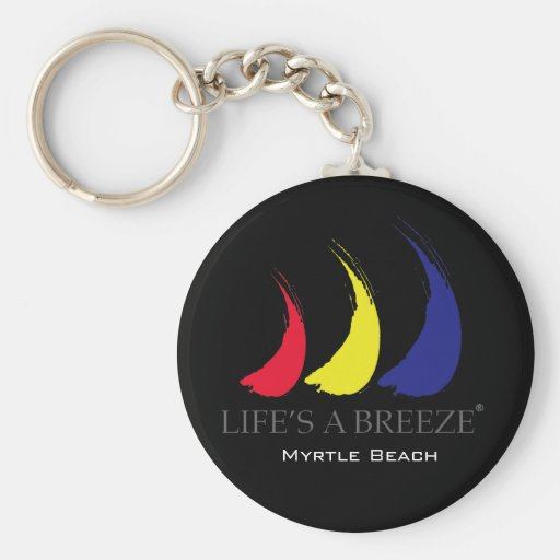 Life's a Breeze®_Paint-The-Wind_Myrtle Beach Keychain