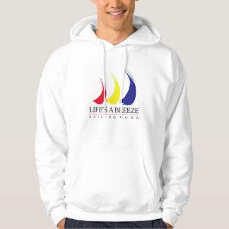 Life's a Breeze®_Paint-The-Wind_Sailing USA Hoodie