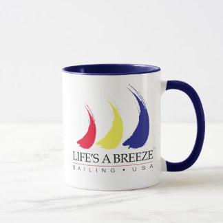 Life's a Breeze®_Paint-The-Wind_Sailing USA mug