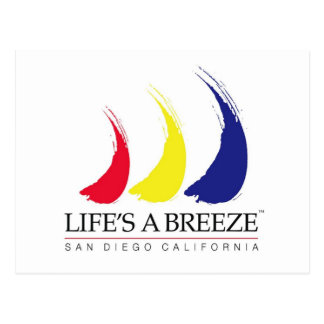 Life's a Breeze™_Paint-The-Wind_San Diego postcard