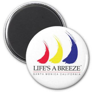 Life's a Breeze™_Paint-The-Wind_Santa Monica Magnet