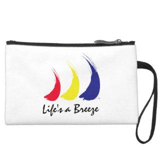 Life's a Breeze™ Paint-The-Wind Splashy Sails Wristlet Clutches