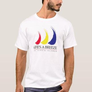 Life's a Breeze®_Paint-The-Wind_US Virgin Islands T-Shirt