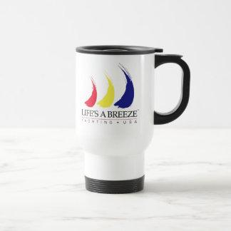 Life's a Breeze®_Paint-The-Wind_Yachting USA mug