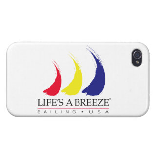Life's a Breeze®_Sailing USA iPhone 4 Case