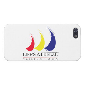 Life's a Breeze®_Sailing USA iPhone SE/5/5s Case