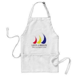 Life's a Breeze®_When my Captain cooks! apron