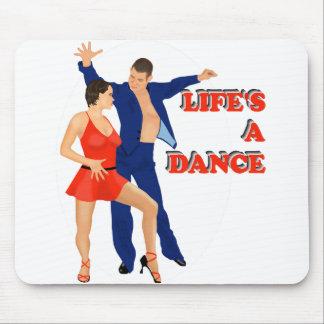 Lifes a Dance Mouse Pad