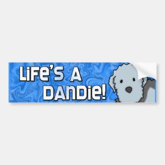 Life's a Dandie Bumper Sticker