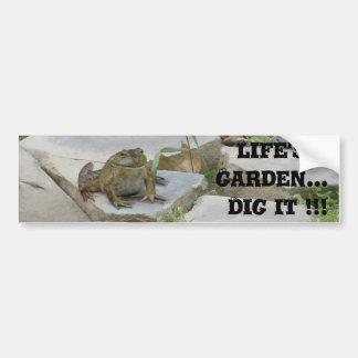 Life's a Garden Bumper Sticker