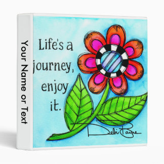 Life's A Journey Binder