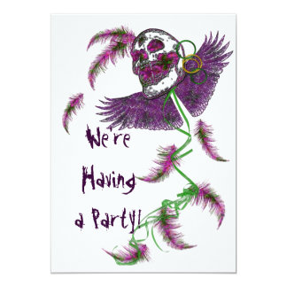 Life's a Party - Party Invittions 5x7 Paper Invitation Card