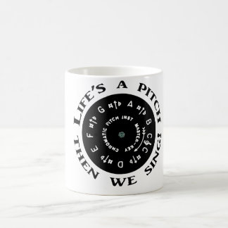 Life's a Pitch Coffee Mug