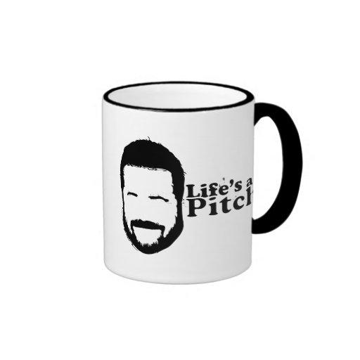 Lifes a Pitch! Coffee Mugs