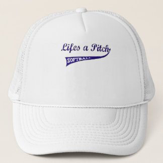 Lifes a Pitch! Trucker Hat