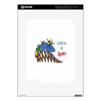 LIFES A RIDE iPad 3 DECAL