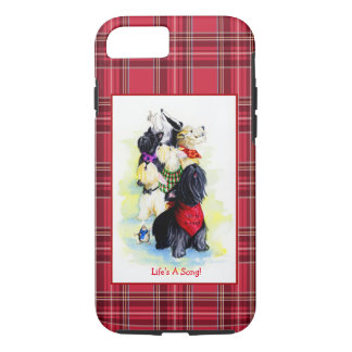 Life's A Song terriers iPhone 7 Case