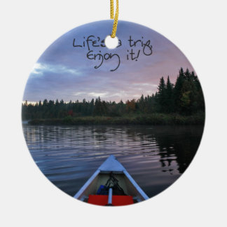 Life's A Trip, Enjoy It! - Series 1 Ceramic Ornament