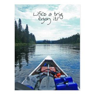 Life's A Trip, Enjoy It! - Series 2 Postcard