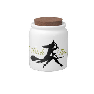 Life's  a Witch Candy Jar