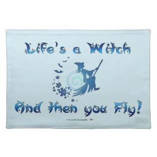 Life's a Witch Cloth Placemat