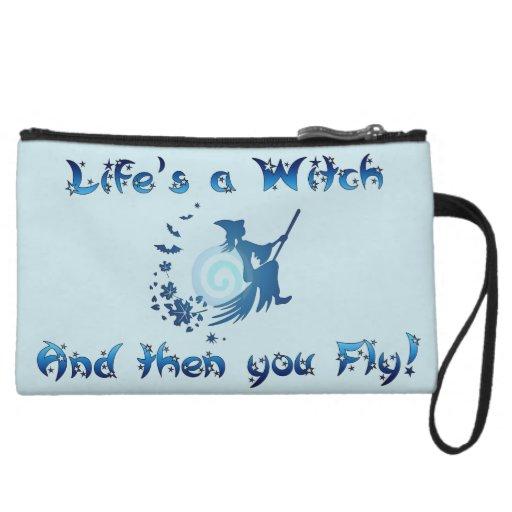 Life's a Witch Wristlet Clutch