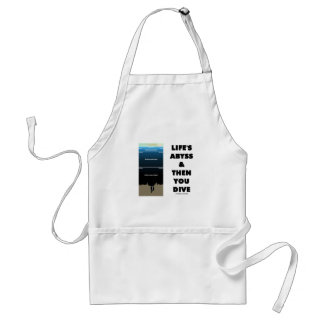 Life's Abyss And Then You Dive (Pelagic Zone) Adult Apron