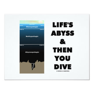 Life's Abyss And Then You Dive (Pelagic Zone) Card