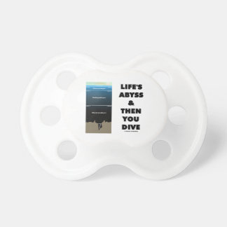 Life's Abyss And Then You Dive (Pelagic Zone) Pacifier