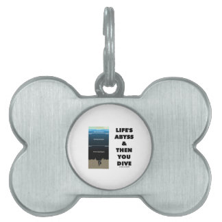 Life's Abyss And Then You Dive (Pelagic Zone) Pet ID Tag