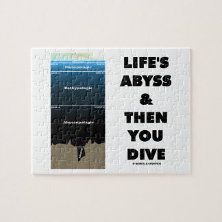 Life's Abyss And Then You Dive (Pelagic Zone) Puzzle